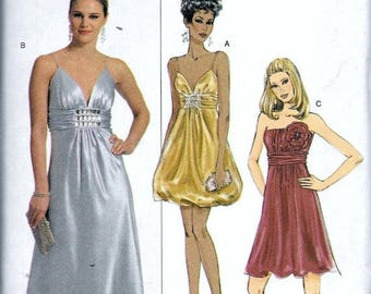 Butterick Misses Evening Gown Sz 8-14 Uncut