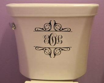 Custom Toilet Tattoo