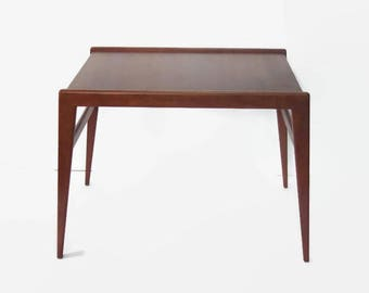 Vintage Danish Side Table, Danish Modern Teak End Table, Mid Century Modern  Table