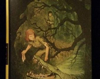 Vintage Nancy Drew Mystery of Crocodile Island #55 Carolyn Keene 1978