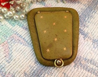 Vintage Mannelli Leather Coin Purse