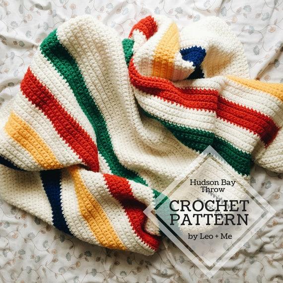Hudson Bay Blanket Pattern Crochet Baby Blanket Pattern