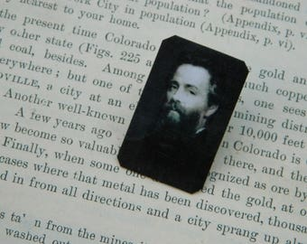 Herman Melville  brooch lapel pin hat pin Literature gift