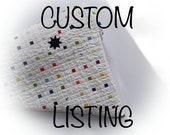 CUSTOM LISTING for CHRISTINA,  Quilted Pot Holders, Modern Pot Holders, Modern Kitchen Decor