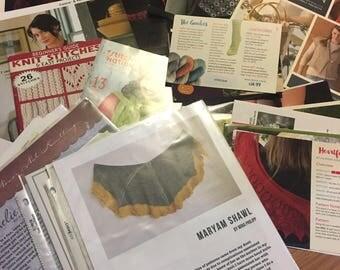 Lot of Knitting Books and Patterns Destash