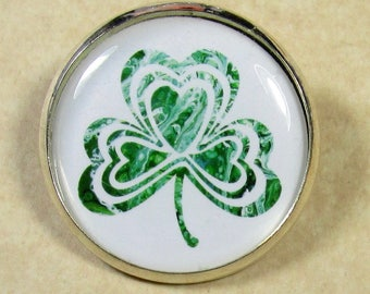 Shamrock Pin, Shamrock Brooch, St Patrick's Day Pin, Irish Pin, Shamrock Gift, Shamrock Jewelry, Irish Gift, Irish Jewelry, Irish Brooch