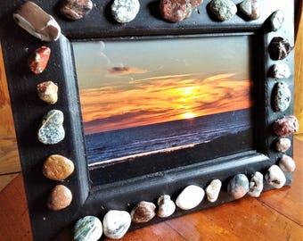 Bandon Sunset Stone Frame