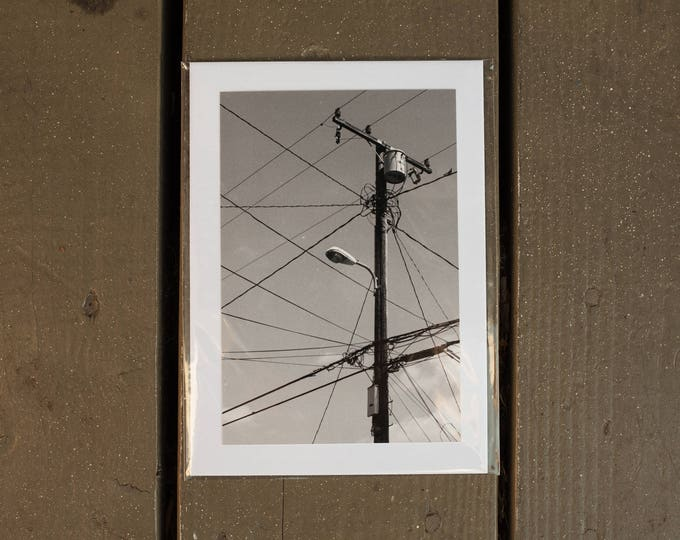 Connections - Black and White Photograph Print