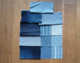 set of fabrics for patchwork 137 coupons