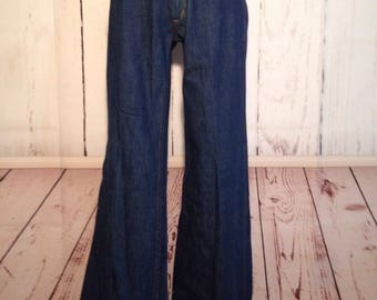 Vintage 70s Deadstock Jeans Prime Cut Tall NWT Bellbottom