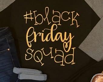 Black Friday Squad Shirt -  Black Friday Raglan Tee - Black Friday Shopping Baseball Tshirt - Hashtag Black Friday - Southern Girls brand