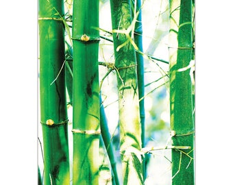 Nature Photography Wall Art 'Bamboo Heights' by Meirav Levy - Bamboo Decor Modern Asia Decor on Metal or Plexiglass
