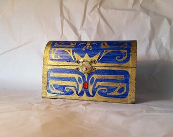 MUSICAL--The Small Boss Key Chest from The Legend of Zelda: Ocarina of Time and Majora's Mask (round top)