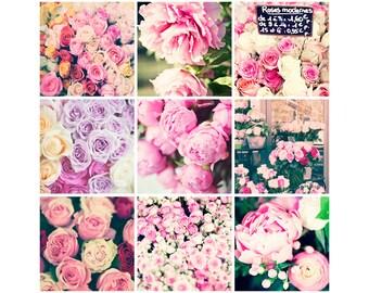 Peony print, pink wall art, peony wall art, girl room decor, girl room art, bathroom art, girly wall art, bathroom wall art,Paris wall art