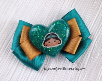 Princess Jasmine Hair Bow