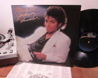 Michael Jackson - Thriller - Gatefold - MUST OWN LP!! - Beat It - Billie Jean - w/ Printed Inner Sleeve