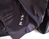 Furoshiki, silk wrapping cloth, Japanese furoshiki, eco gift wrapping cloth