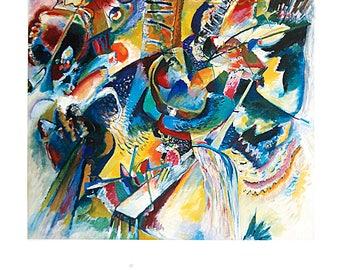 Wassily Kandinsky-Improvisation Gorge-1996 Poster