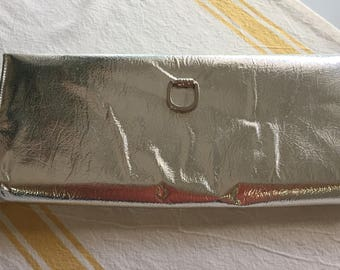 Vintage silver clutch