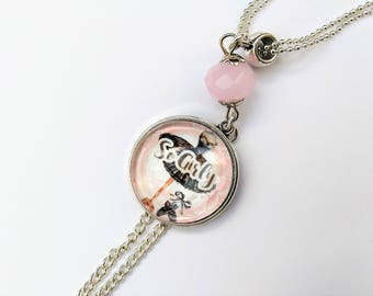 VINTAGE CABOCHON NECKLACE - SO GIRLY collection