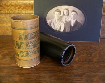 Antique Thomas Edison Record CylinderAntique Phonograph CylinderThomas InventionsThomas