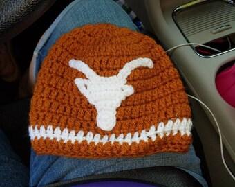 Texas longhorn beanie