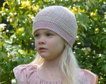 Basketweave Beanie Hat - Instant Download PDF Pattern