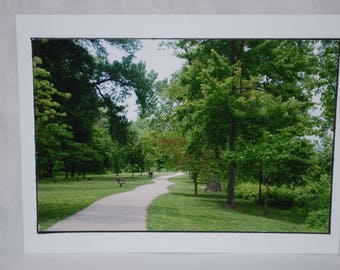 Photo card, Branson Missouri, Ozarks, Travel Photography