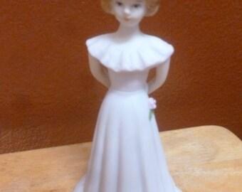 Enesco Birthday Girls figurine age 13 1982