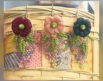 Floral Bouquet Earrings