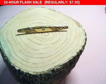Avon bar pin brooch, Goldtone pin, vintage pin brooch, retro