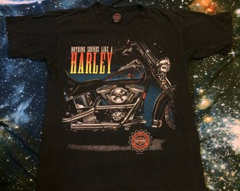 Vintage Harley Davidson Motorcycles Nothing Sounds Like a Harley Biker T-Shirt