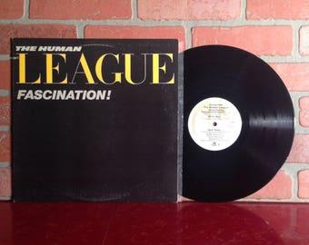 "Human League Fascination! Vinyl Record 12"" Single 1981 New Wave Pop Rock Music Vintage"