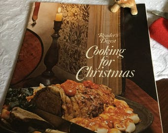 1960's Readers Digest Cooking for Christmas Cookbook/Pamphlet