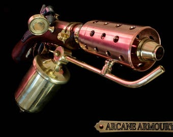 Steampunk Mini Flamethrower Prop  ( non working)