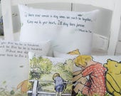 Winnie the Pooh Gift Collection mini Pooh pillows set of 4 for Nursery gift, birthday gift or nusery decoration
