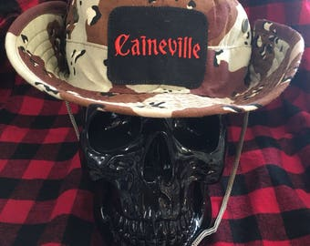 Caineville Utah digger bucket hat camo military boonie