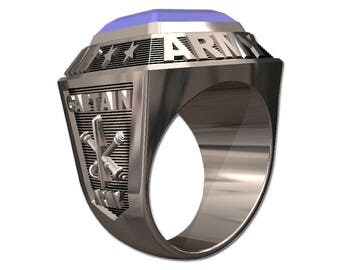 US ARMY Men's Ring - Championship Style