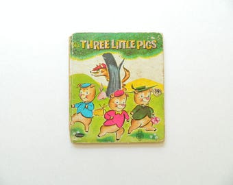 Three Little Pigs - Tell-A-Tale by Whitman - 1959