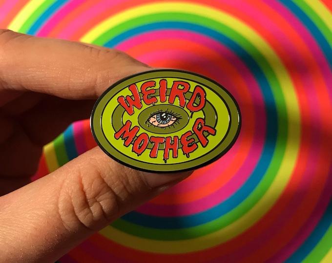 Weird Mother Daria Mash up Pin.