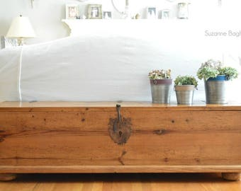Farmhouse Bench, Table, Entry or Hallway Storage