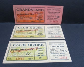 horse racing tickets