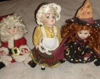 Marie Osmond Petite Amour dolls 3