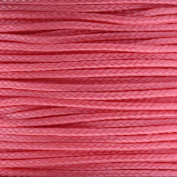 Pink Ms16 1 18mm X 125 Micro Cord Paracord Made In The