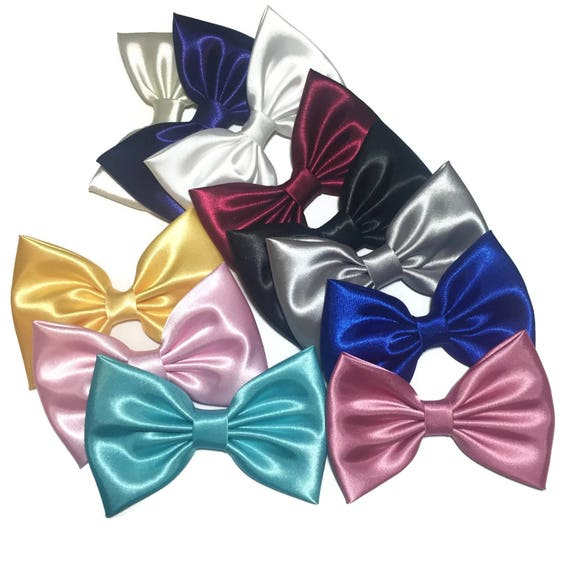 Kawaii Bows, Shiny Satin Hair Bow, Girls Hair Bow, Fabric Hair Bows, Large Bows, Fashion Hair Bow, Cheer Bows, Baby Bows, Big Bow, KAWAII