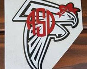 Atlanta Falcon Decal Etsy - Window decals for business atlanta