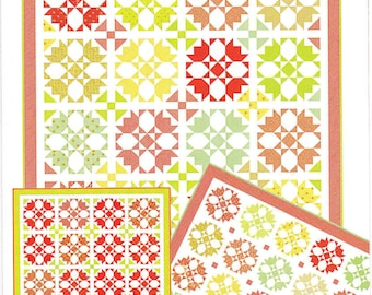 Quilt Pattern - Rosehips Pattern - Fig Tree and Co. -