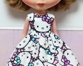 BLYTHE doll Its my party dress - Hello Kitty