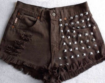 Mustang shorts studded