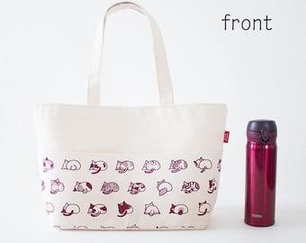 New Cat Butts Canvas Bag (Medium size)